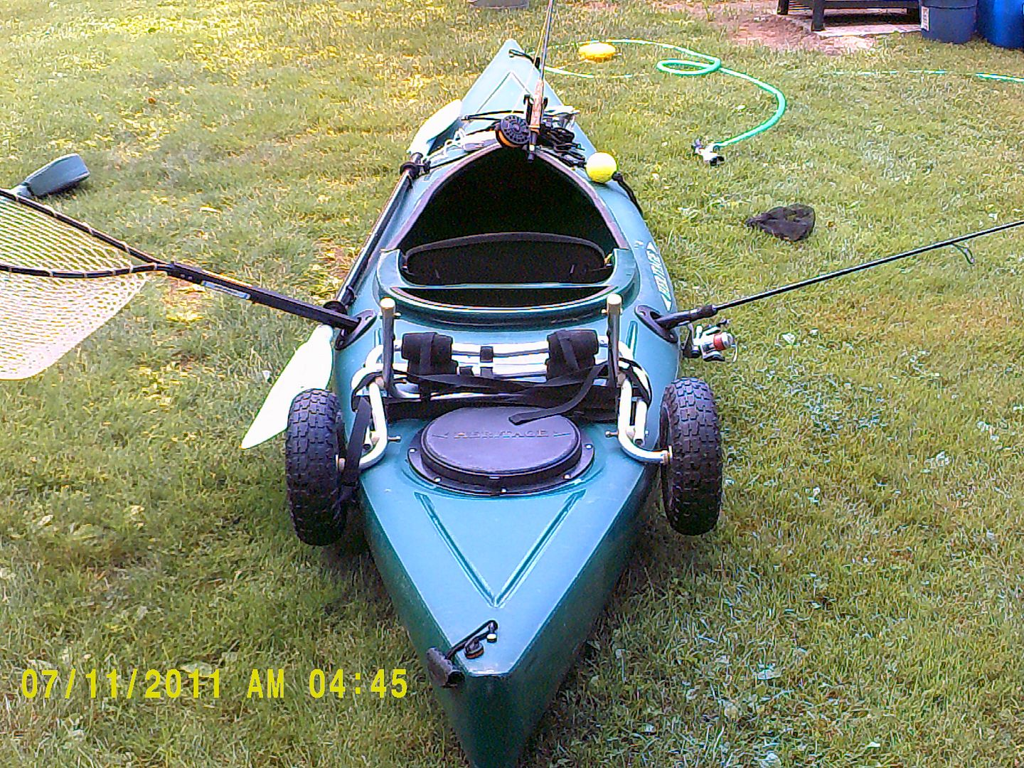 My 12 Year Old Heritage Featherweight Angler It Is A Fishing Machine