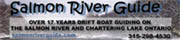 Please visit our sponsor Salmon River Guide in Pulaski, Ny